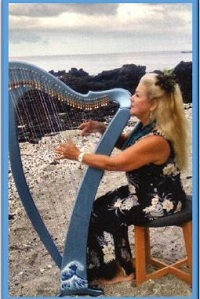 Blue Hawaiian Harp