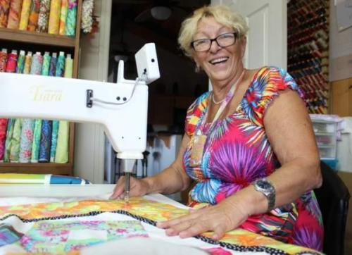 Viv Smith quilting